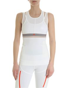 Adidas by Stella McCartney - Run Tank white top