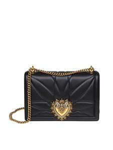 Dolce & Gabbana - Black bag in nappa Devotion D&G