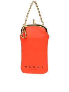 Marni - Red and green phone holder