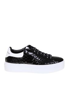 Philipp Plein - Black low-top sneakers