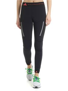 Adidas by Stella McCartney - Leggings running Adidas neri