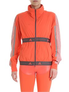 Adidas by Stella McCartney - Run Adidas coral color jacket