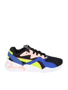 Puma - Back and blue Nova GRL PWR sneakers