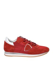 Philippe Model - Tropez L sneakers mondial rouge