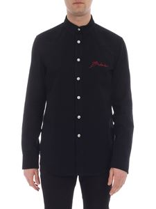 Balmain - Black denim shirt