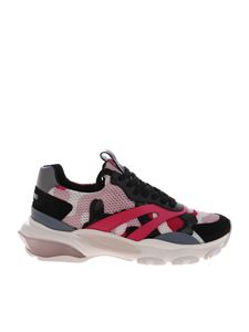 Valentino - Sneakers Bouce in cuoio multicolor