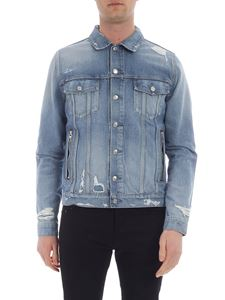 Balmain - Light blue denim jacket