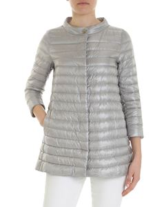 Herno - Rossella pearl gray down jacket
