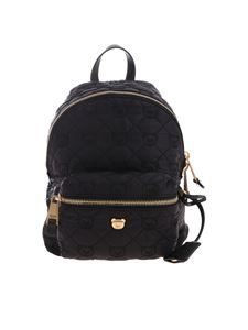Moschino - Black Teddy Bear embroidered backpack