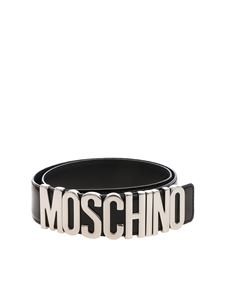 Moschino - Moschino black belt with logo
