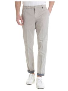 Dondup - Gaubert trousers in beige and blue
