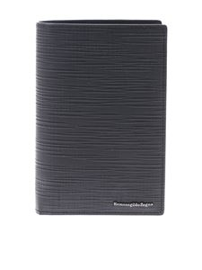 Ermenegildo Zegna - Document holder in black leather