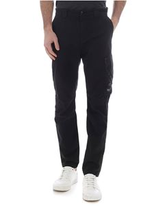 CP Company - Black trousers with pocket