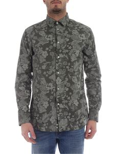 Paolo Pecora - Floral pattern shirt in green