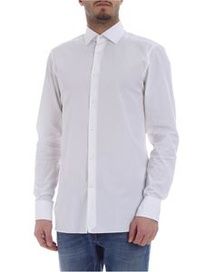 Ermenegildo Zegna - Shirt in white pure cotton