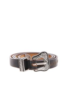 HTC - Lamar Slim Belt black belt