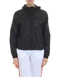 Rossignol - Semi-transparent black jacket with hood