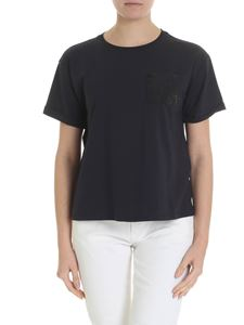 Emporio Armani - Emporio Armani T-shirt with embroidery and sequins