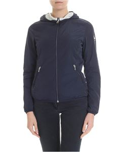 Colmar - Blue reversible Charge hooded down jacket