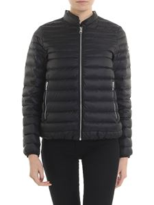 Colmar - Black quilted Punk down jacket with logo