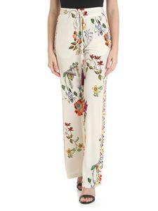 Etro - Flowing floral Etro trousers
