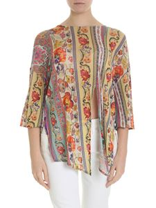 Etro - Viscose blouse Etro pasley motif and flowers