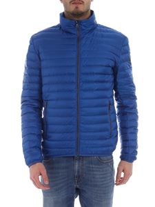 Colmar - Colmar quilted blue down jacket