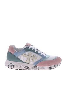Premiata - Zac Zac sneakers in pink and light blue pastel