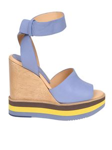 Paloma Barceló - Light blue Ayaka sandals