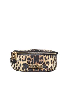 Moschino - Beltbag with animalier print