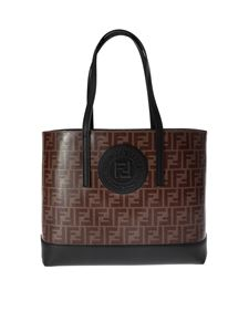 Fendi - Handbag with FF logo
