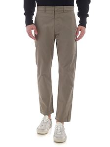 Pence - Baldo trousers in mud color