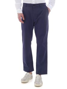 Pence - Efrem trousers in denim blue color