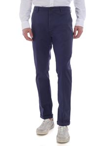 Pence - Pool blue denim trousers