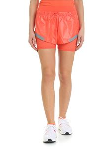 Adidas by Stella McCartney - Run orange sporty shorts