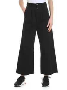 MM6 by Maison Martin Margiela - Black MM6 palazzo trousers