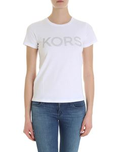 Michael Kors - Michael Kors t-shirt in white with studs