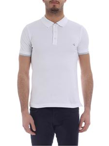 Fay - White polo with Fay logo embroidery