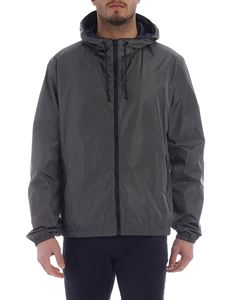 Fay - Fay grey water repellent jacket with hood