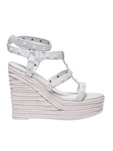 Kendall + Kylie - Give white sandals