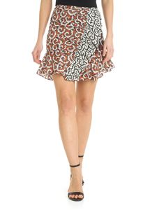 Isabel Marant Étoile - Loz black skirt with contrast print
