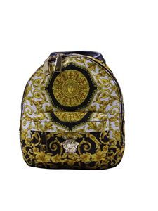 Versace Young - Backpack with Gothic baroque print