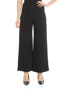 Theory - Theory palazzo trousers in black