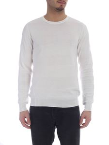 Paolo Pecora - Cream cotton knitted pullover