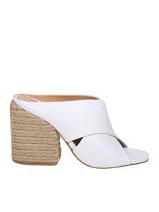 Paloma Barceló - White Venus sandals