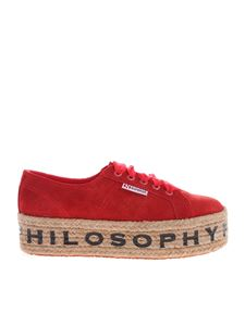 Philosophy di Lorenzo Serafini - Sneakers Philosophy rosse