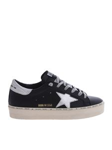 Golden Goose Deluxe Brand - Black Hi-Star sneakers with silver star