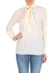 Chloé - Cream-colored blouse with ribbon