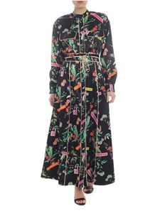Pinko - Long Rosalinda black dress