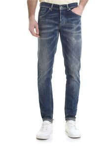 Dondup - George jeans with washed out effect
